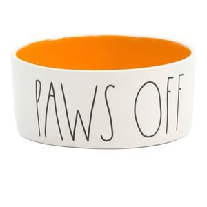 "🆕Rae Dunn ""Paws Off"" Pet Food/Water Bowl"
